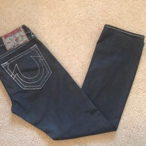 True Religion Straight Leg Bobby Super T Coated